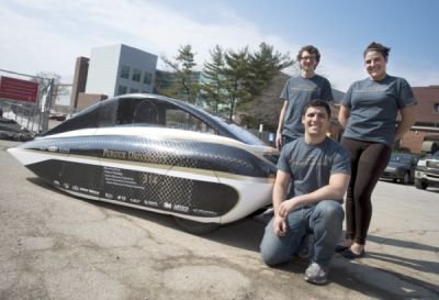 Purdue University Solar Car Project